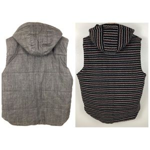 Zara Jackets & Coats - Zara Man Thick Heavy Reversible Hooded Vest